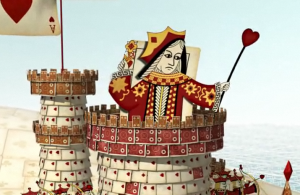 Cool Animated Movie by Adobe of Playing Cards Duelling it Out