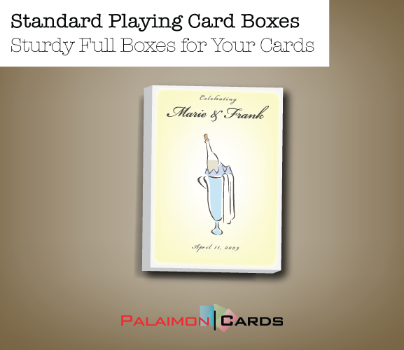 Standard Playing Card Boxes