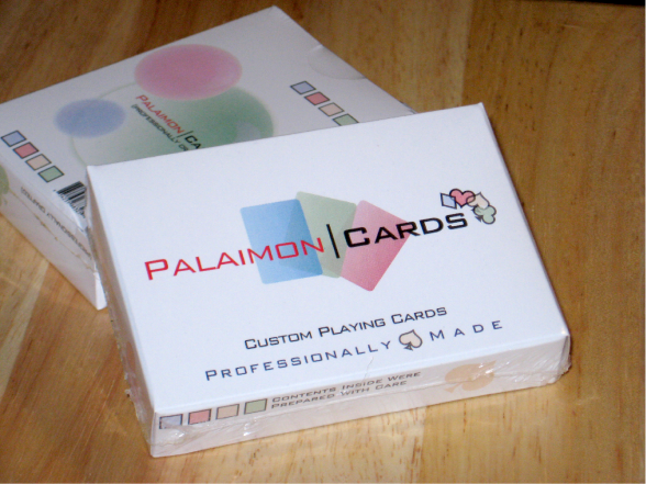 Custom Printed Playing Cards Tuck Box